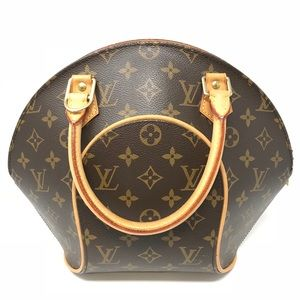 Louis Vuitton Monogram Ellipse Clamshell Bag